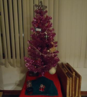 small pink tree