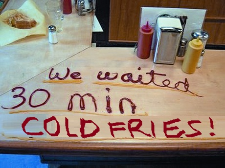 cold fries