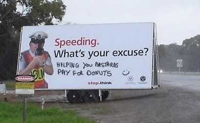 speeding excuse