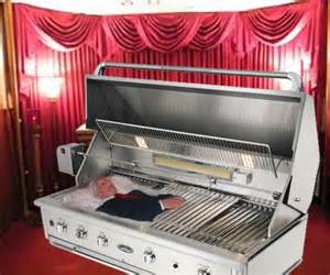 grill coffin