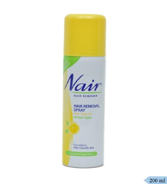 spray on nair