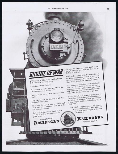 1942-Association-Of-Railroad-WWII-Locomotive-Freight-Transportation