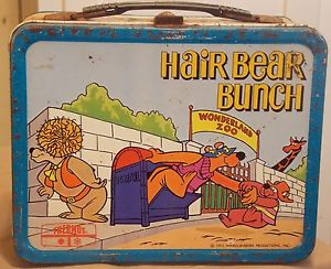 hair bear bunch lunch