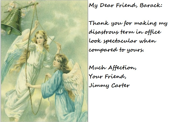 jimmy carter thank you card