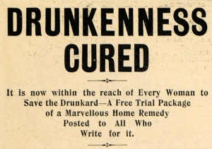 save the drunkard