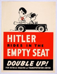 hitler empty seat