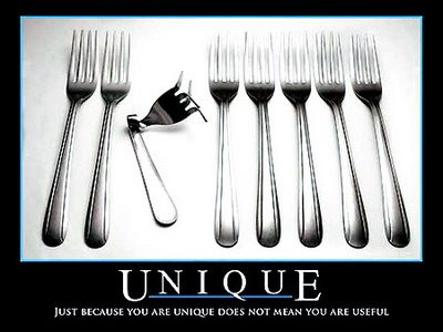 unique-not-useful