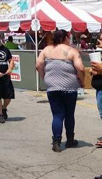 gratuitous back fat