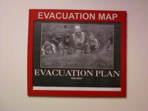 monty python evacuation