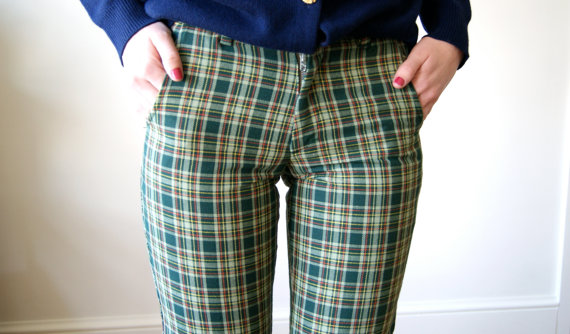 icky plaid pants