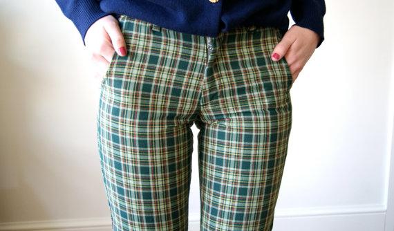 icky plaid pants
