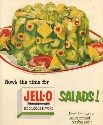 gross jello salad