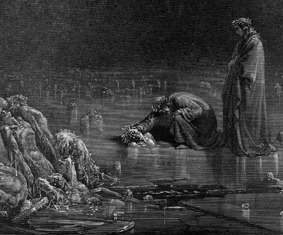 stepping on sinner's heads